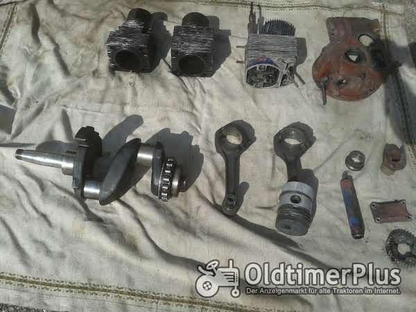 Fahr 130  Güldner ALD Motor ersatzteile 2LD Foto 1