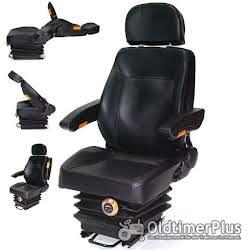 Sitze Traktorsitz mit Federung Armlehne Rückenlehne OVP