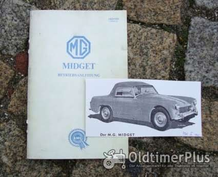 Betriebsanleitung MG Midget Mk I 1961 Foto 1