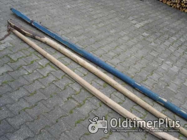 Unbekannt Versch.Zugstangen für Holz-Heu-Leiterwagen Foto 1