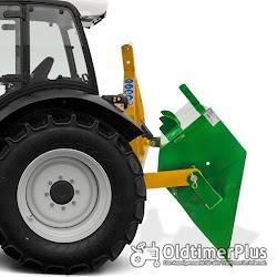 Traktor Heckschaufel hydraulisch 120 cm breit 400 kg Nutzlast NEU Foto 2