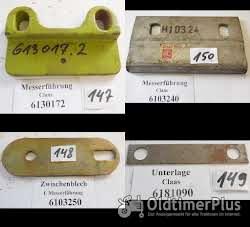 Claas Mädrescher, Presse, Ersatzteile, Sortiment B Foto 5