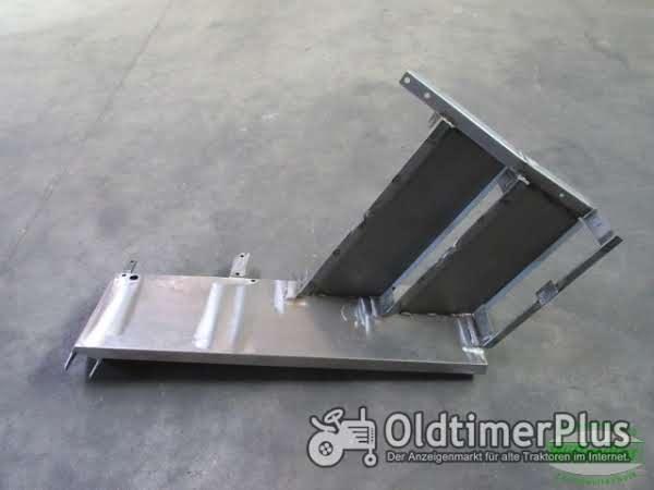 MB Trac 1000 1100 700 800 900 Kotflügel vorn 3-stufig 350 mm Schutzblech Blechteil Foto 1