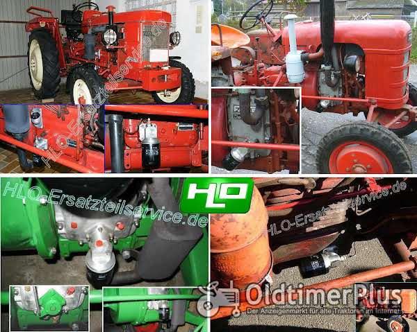 Wesseler Rietscher Fendt Ölfilterumbausatz für Motor MWM AKD... und KD... Foto 1