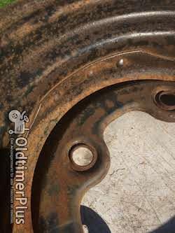 Kronprinz VW / Traktorfelge 15 Zoll geschmiedet Foto 5