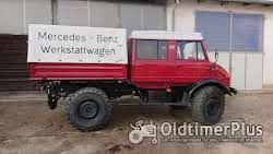 Mercedes Unimog 416 Doppelkabiner Foto 2