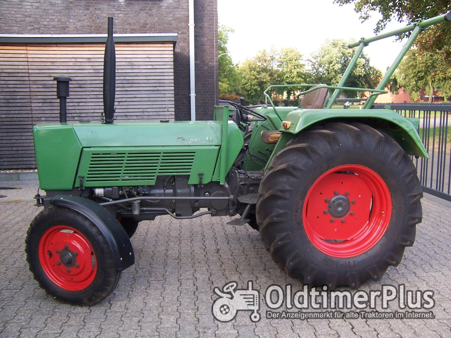 Fendt Farmer 3 S Turbomatik Foto 2