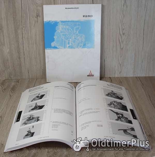 Deutz Werkstatthandbuch Motor FL912/ 913/ BFL913 (ab 1996) Foto 1