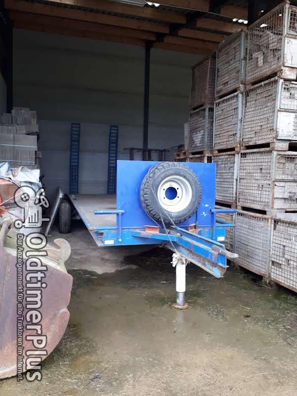 Eigenbau Traktor Tieflader Foto 1