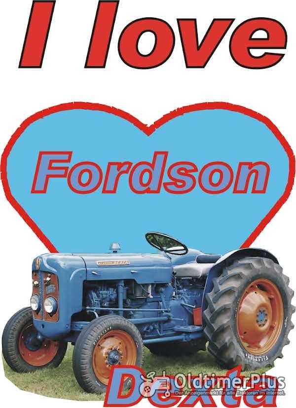 I love Fordson Dexta T-Shirt Foto 1