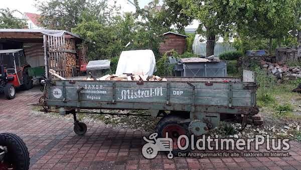 F. Stille aus Münster Westfalen. Typ M94. Triebachswagen mit Kratzboden (Mistwagen) für Oldtimer Foto 1