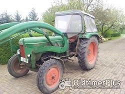 Fendt Farmer 3 S mit Frontlader Foto 3