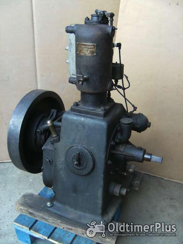 Heinrich Liesen Standmotor Stationärmotor Foto 1