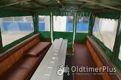 Eisenwerk Grümer Planwagen - Anhänger – Einzelstück – Typ DB 8000 – DB 80 Foto 9