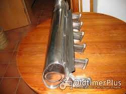 Schalldämpfer aus Edelstahl für Deutz D80 - D8005 und D9005. Foto 3
