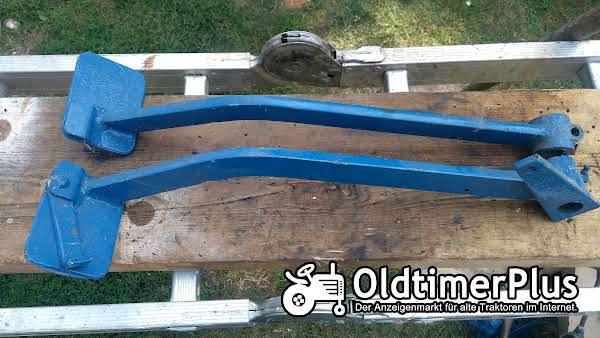Hanomag Doppel-Bremspedal Fusbremshebel R435, R324 und andere Foto 1