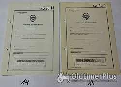 ABE, Allgemeine Betriebserlaubnis, KFZ-Brief Foto 9