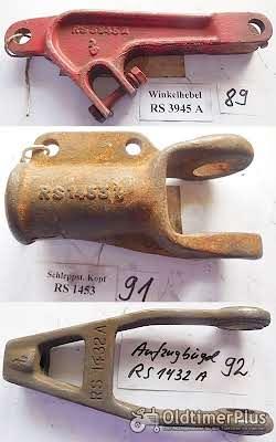 Rasspe Mähwerk, Fingerbalkenmähwerk, Ersatzteile, Sortiment B Foto 9