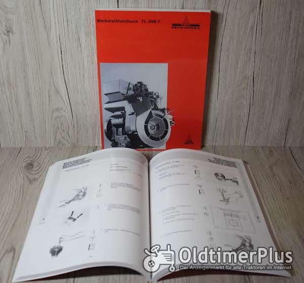 Deutz Werkstatthandbuch Motor F1L208F und F2L208F Foto 1
