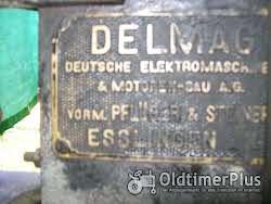 Delmag Fahrbare Holz-Säge u. Splatmaschine Delmag 1922 Foto 2