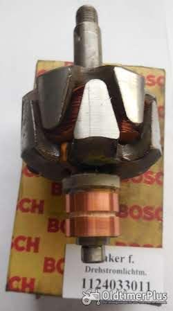 Bosch Anker, Wicklung, Diodenplatte, IHC, Deutz, VW, Foto 2