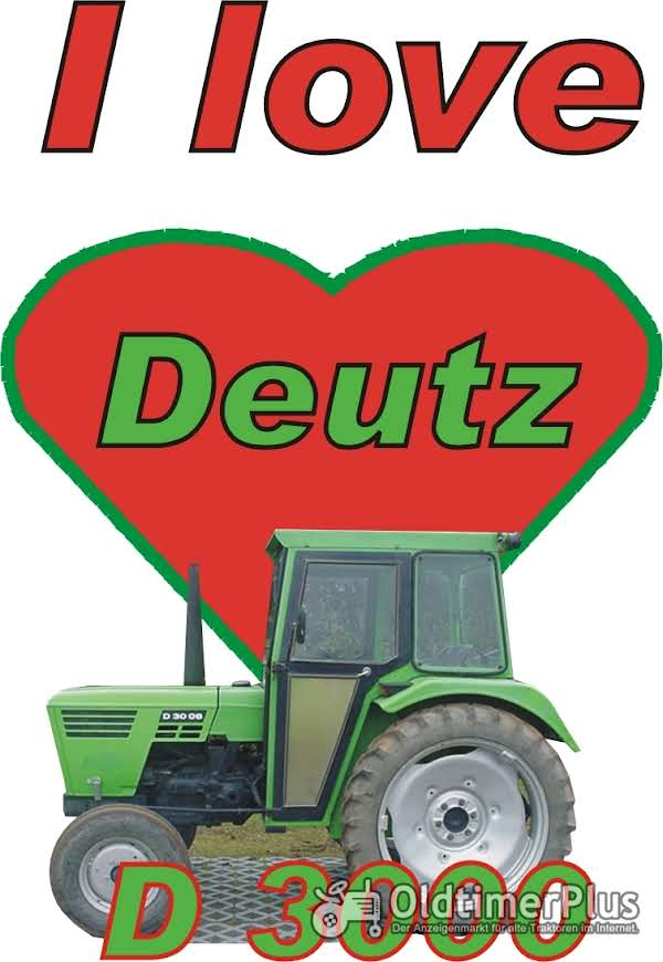 I love Deutz D 3000 T-Shirt Foto 1