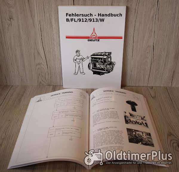 Deutz Fehlersuch Handbuch für luftgekühlte Deutz-Dieselmotoren B/FL 912/913/W Foto 1