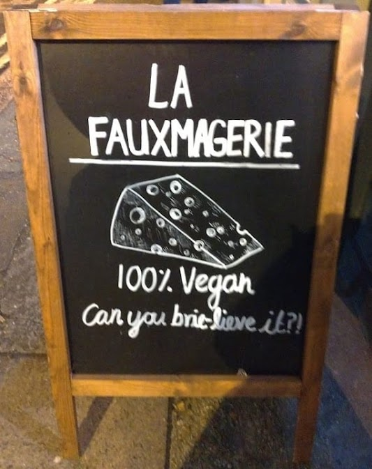 La Fauxmagerie - 100% vegan, can you brie-lieve it?!