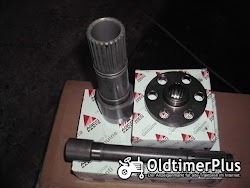 Fendt Favorit 512 - 515c, lsa Turbokupplung, Hohlwelle, Kupplungswelle, Kupplungsflansch,  Foto 2