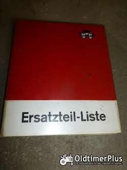 MASSEY FERGUSON ET-Liste für Mähdrescher MF 30, 630 S Foto 2