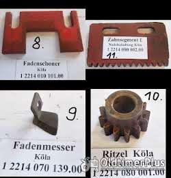 Köla, Ködel & Böhm, Presse, Strohpresse, Niederdruckpresse, Heupresse, Ersatzteile Foto 6