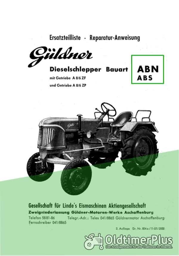 Güldner ABN Ersatzteilliste/Reparaturanleitung im PDF-Format Foto 1