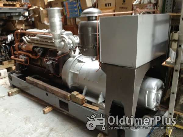 Motor Deutz BA 8M 517   --250PS bei 1500U/min.  Stromaggregat, Standmotor Notstromaggregat 200 KVA   /  289Ampere Foto 1