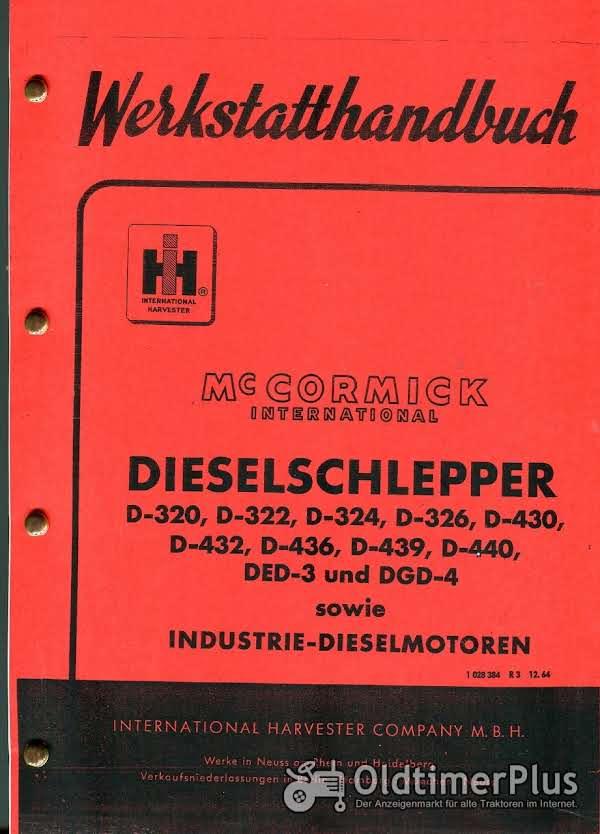 IHC D-320 - D-440 Werkstatthandbuch Foto 1