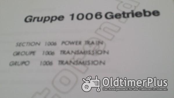 Deutz 1006 Getriebe Foto 1