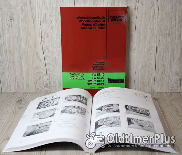 Deutz Werkstatthandbuch Getriebe International D6806 D7206 D6807 D7807 DX3.70 DX3.90 TW 56.10 TW 56.20 TW57.10/11 TW57.20/21 Foto 1