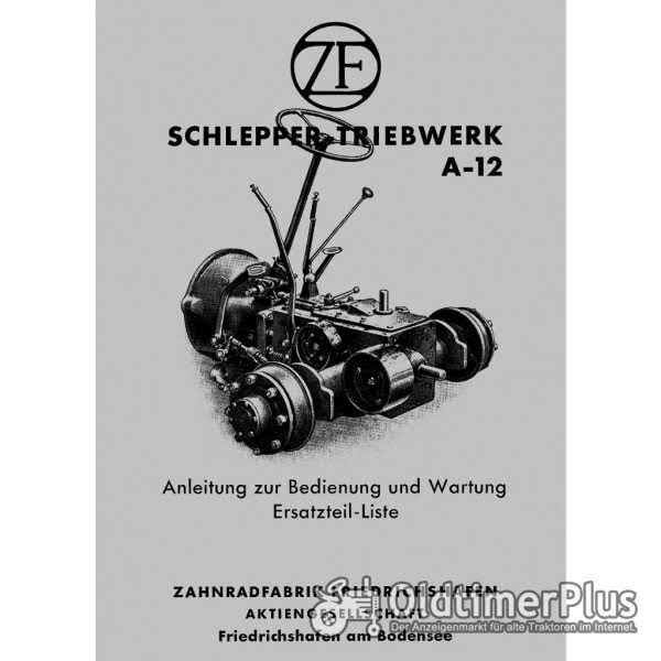 ZF Prometheus ZF A12 Teile Bremse/Mähwerk Güldner, Fendt, Primus, Eicher, Schlüter Foto 1