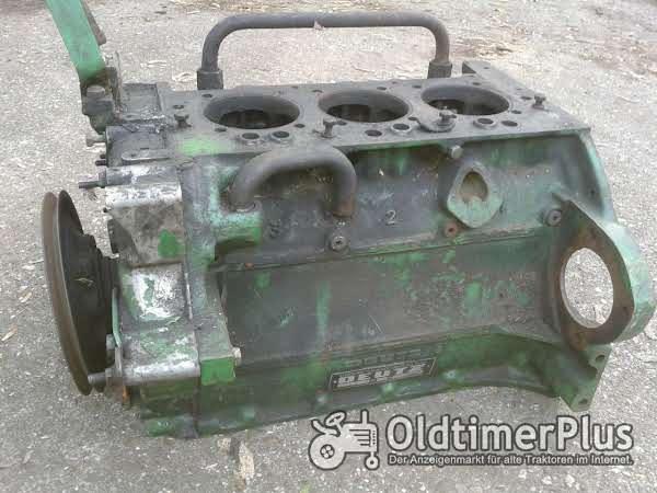 Deutz F3L812  und F4L912 Motorblock  Kurbelwelle und Nockenwelle Foto 1