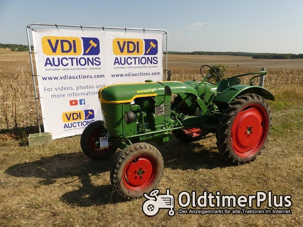 Deutz F1L612 Diese Traktoren befinden sich in Frankreich 16250 Angouleme! Foto 1