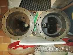 ZF A205 / A208 Achsrohre Achstrichter Getriebe Oldtimer Schlepper Traktor Achstrichter Achsrohre FAHR GÜLDNER ZF A205 / 208 Getriebe  Foto 2