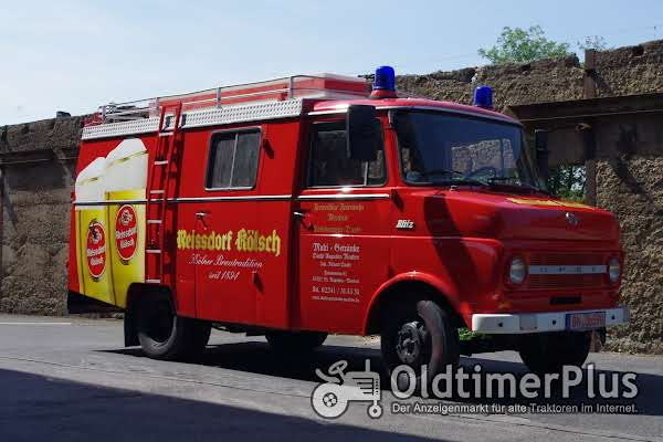 Opel Blitz Ausschankwagen  ex Feuerwehr Foto 1