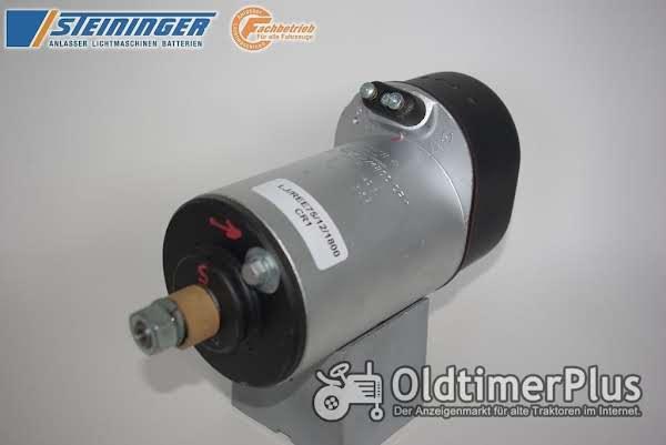 REE Lichtmaschinen für Oldtimer Schlepper Foto 1