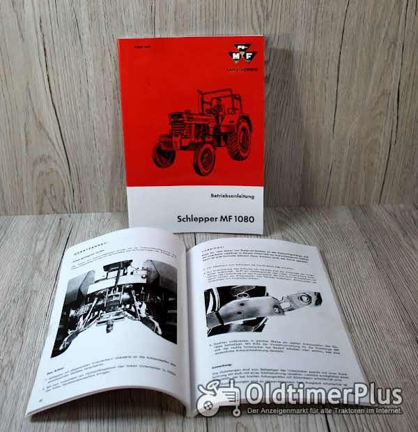 Massey Ferguson Betriebsanleitung Traktor MF 1080 Foto 1
