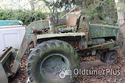 Schopf Oldtimer Radlader Foto 3