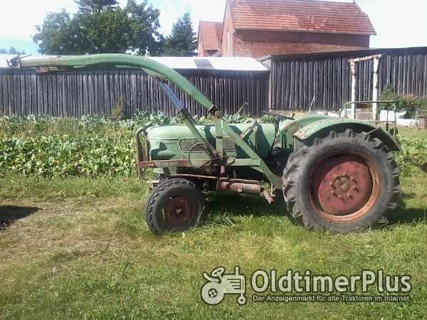 Fendt Farmer 2 mit Frontlader Foto 1