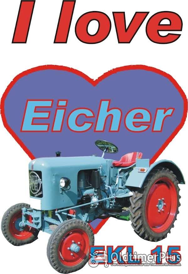 I love Eicher EKL 15 T-Shirt Foto 1