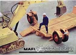 MAFI Tieflader NL 16 To. Foto 3