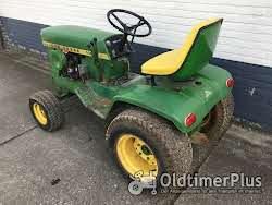 John Deere 140 garten traktor Foto 2