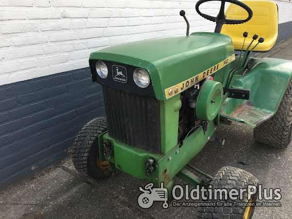 John Deere 140 garten traktor Foto 1