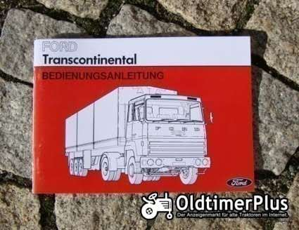 Betriebsanleitung Ford Transcontinental 1977 Foto 1
